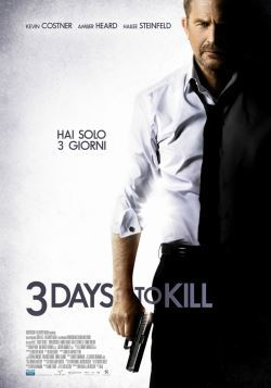 locandina del film 3 DAYS TO KILL