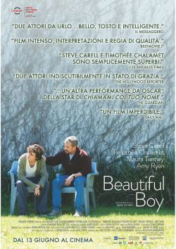 locandina del film BEAUTIFUL BOY (2018)