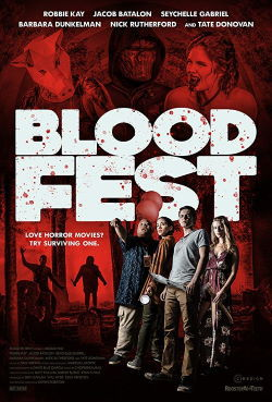 locandina del film BLOOD FEST