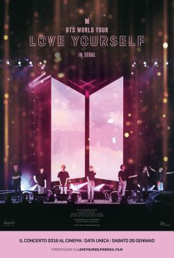 locandina del film BTS WORLD TOUR: LOVE YOURSELF IN SEOUL
