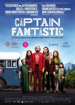 locandina del film CAPTAIN FANTASTIC