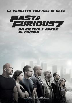 locandina del film FAST AND FURIOUS 7