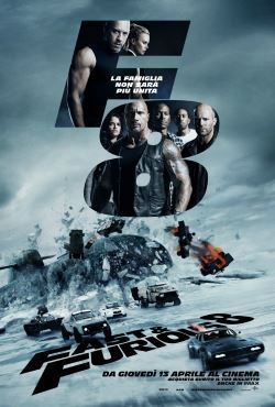 locandina del film FAST AND FURIOUS 8
