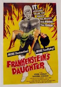 locandina del film FRANKENSTEIN'S DAUGHTER