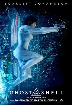 locandina del film GHOST IN THE SHELL (2017)