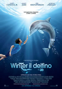 locandina del film L'INCREDIBILE STORIA DI WINTER IL DELFINO
