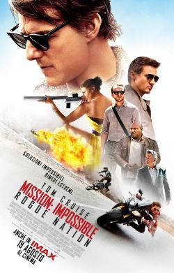 locandina del film MISSION: IMPOSSIBLE - ROGUE NATION