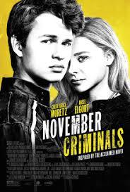 locandina del film NOVEMBER CRIMINALS