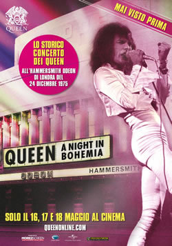 locandina del film QUEEN: A NIGHT IN BOHEMIA