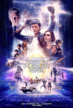 locandina del film READY PLAYER ONE