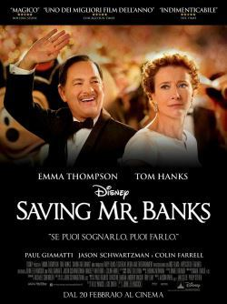 locandina del film SAVING MR. BANKS