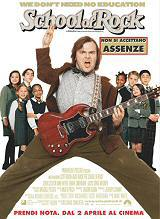 locandina del film SCHOOL OF ROCK