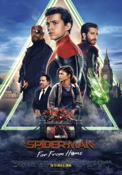 locandina del film SPIDER-MAN: FAR FROM HOME
