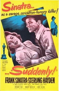 locandina del film SUDDENLY (1954)