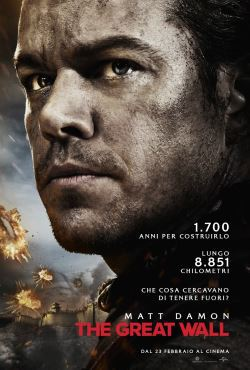locandina del film THE GREAT WALL