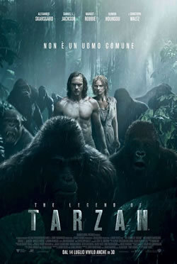 locandina del film THE LEGEND OF TARZAN