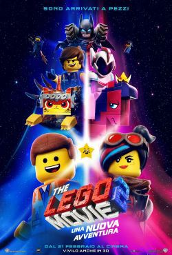 locandina del film THE LEGO MOVIE 2: UNA NUOVA AVVENTURA