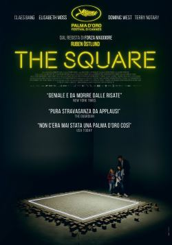 locandina del film THE SQUARE (2017)