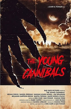 locandina del film THE YOUNG CANNIBALS