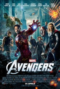 locandina del film THE AVENGERS (2012)