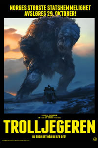 locandina del film THE TROLL HUNTER
