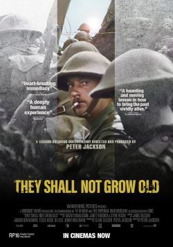 locandina del film THEY SHALL NOT GROW OLD