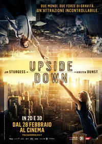 locandina del film UPSIDE DOWN