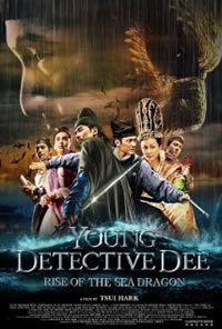locandina del film YOUNG DETECTIVE DEE: RISE OF THE SEA DRAGON