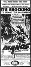 Locandina del film MANOS: THE HANDS OF FATE