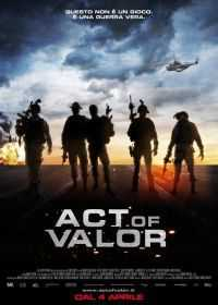 Locandina del film ACT OF VALOR