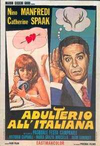 Locandina del film ADULTERIO ALL'ITALIANA