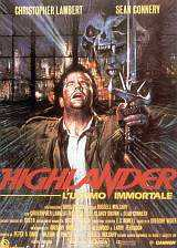 Locandina del film HIGHLANDER - L'ULTIMO IMMORTALE