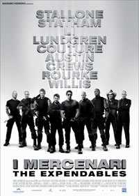 Locandina del film I MERCENARI - THE EXPENDABLES