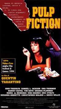 Locandina del film PULP FICTION