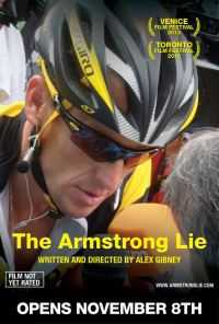 Locandina del film THE ARMSTRONG LIE