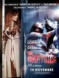 Locandina del film THE CANYONS